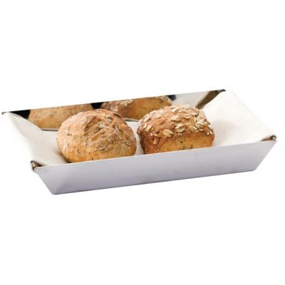 Zeta Rectangular Bread Basket-200x120mm
