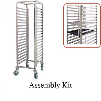 Pastry Tray (60x40) Trolley- (470x640x1710mm)