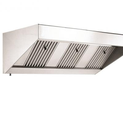 SKA 8-10 85CM DEPTH SNACK HOOD WITH ELECTRIC EXTRACTOR