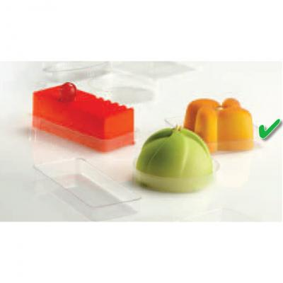 Thermoformed Trays Square-42x42x8mm